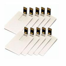 USB 2.0 Credit Card Model 16GB 8GB Memory Stick USB Flash Drive Pendrive lots th