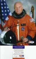 John Glenn Signed 8x10 Photo - PSA DNA