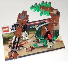 LEGO Star Wars Set 9489 Imperial Speeder Bike & Endor Battle Tree NO MINIFIGURES