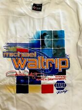 Michael Waltrip #15 NASCAR T Shirt Double Sided Chase Authentic XL 2002
