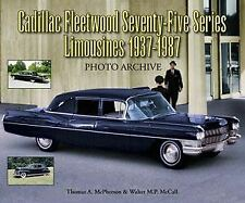 Cadillac Book Photo History Archive Limousine Limo Picture History 1937-1987