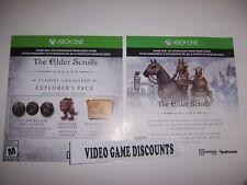 Elder Scrolls Online DLC Add-on Code Xbox One 1 Explorer's Pack + Costume/Mount