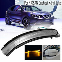 Right LED Wing Mirror Indicator Turn Signal Light For Nissan Qashqai     DY