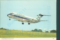 British Midland Airways DC 9 series 10 Charles Skilton Printed unposted
