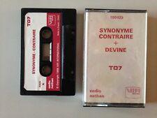 THOMSON TO7 SYNONYME CONTRAIRE + DEVINE