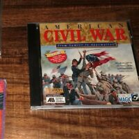 American Civil War From Sumter to Appomattox PC CD Rom Game Windows 95 / 3.1
