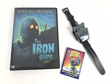 The Iron Giant Dvd Movie Pin Transforming Watch Honey Nut Cheerios mail in promo