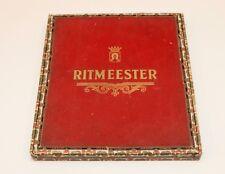 Vintage Ritmeester Cigar Box -  Large 27.5 cm x 24.5 cm x 2 cm - Empty