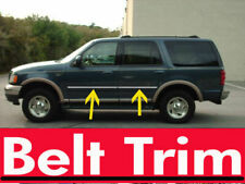 For Ford EXPEDITION Chrome Body Side Molding Trim Kit 1997 98 99 00 2001 2002**