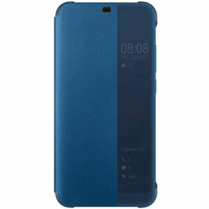 Huawei Honor 10 Official Smart View Flip Durable Slim Case Cover – Deep Blue