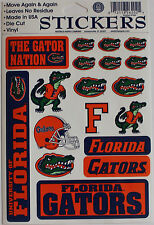 18 Florida Gators Stickers NCAA Sports Sheet Decal Football College Dorm Hobbies