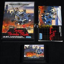 SUPER THUNDER BLADE Mega Drive Genesis Md Versione Italiana 1990 •••• COMPLETO