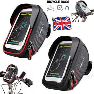 MTB Bicycle Motor Bike Waterproof Phone Case Mount Holder For All Mobile Phones