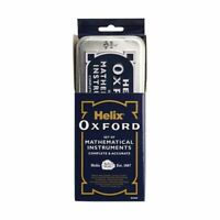 Helix Oxford  9 Piece Maths Geometry Set in Traditional Tin