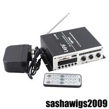 LP-V9 2x25W Hi-Fi Stereo Amplifier USB SD/MMC Card Player AMP Car Boat Motor