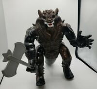 """Gorzak Voice Command Beast with axe 14"""" Monster Tyco 1993 tested and working!"""