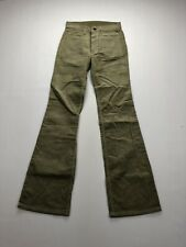 LEVI'S 521 Vintage Cord Flare Jeans - W26 L34 - Green - New with Tags - Women's