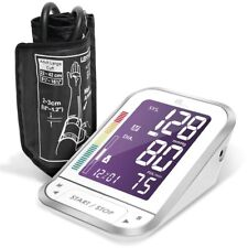 1byone Easy-to-Read Backlit LCD Upper Arm Blood Pressure Monitor Nylon Case