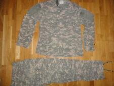 US ARMY FLAME RESISTANT SMALL/REGULAR UNIFORM ACU HOSE JACKE TROUSERS COAT JAGD
