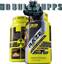 REPP Sports RAZE - Extreme Thermogenic Fat Burning, Weight Loss Formula