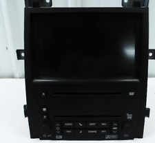 2007-2009 Cadillac Escalade AM FM Stereo Navigation Radio Receiver & Display OEM
