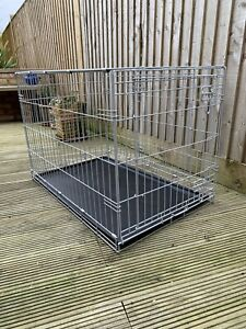 "Pet Accessories Metal Folding 36"""" Pet Crate Dog Crate Cage"