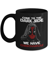 Come To The Dark Side Star Wars Sith Jedi Deadpool Funny Coffee Mug Tea Cup Gift