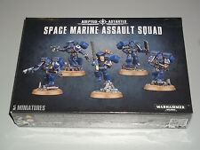 Warhammer 40K SPACE MARINE ASSAULT SQUAD Box Set!! Brand New+Sealed!!