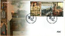 Kosovo Stamps 2019. Visual Art - Esat Valla. FDC MNH
