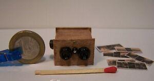 Vintage Handmade Salon Steroscope Artisian miniature 1:12