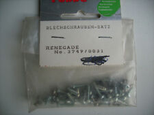 Robbe 37490031 Blechschraubensatz und Madenschrauben versch. Größen ca. 60 Stück