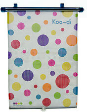 Koo-di Spotty Baby / Toddler / Child Car Sun Blind / Sun Shade   BNIB