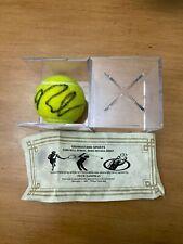Pete Sampras Signed US Open Tennis Ball COA Autograph Guarantee Authentic Auto