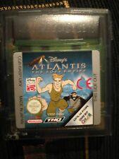 Disney Atlantis El Imperio Perdido Nintendo Gameboy color advance SP GBA color