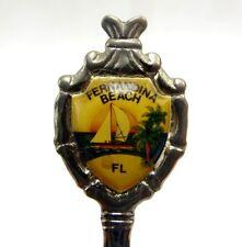 """Vintage Collector Spoon - Fernandina Beach Florida 4.5"""""""