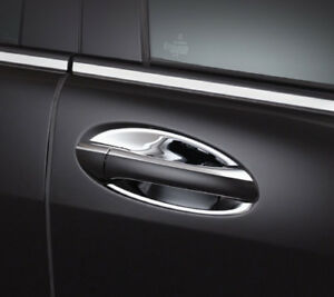 US STOCK x4 CHROME Door Handle Inserts Mercedes W169 W245 W164 W251 A B ML GL R