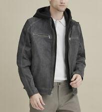 Jake Hooded Leather Jacket 100% leather NEW 2020