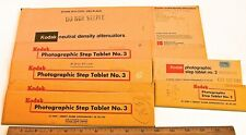 Kodak Neutral Density Step Tablets (21 steps, ND 0.05 – 3.05)