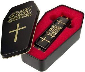 Hohner M666 Ozzy Osbourne Key of C Harmonica In Coffin Box