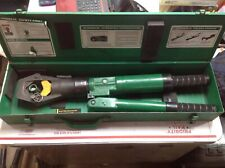 Greenlee 44999 Manual Dieless Hydraulic Crimper Compression Crimping Tool #6379C