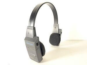 REALISTIC 12-146 Rare Stereo-Mate AM/FM Headset Radio Headphones