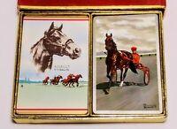 Vintage Playing Cards R.H Palenske Brewer J.R. Redislip / Congress Horse W/ Box
