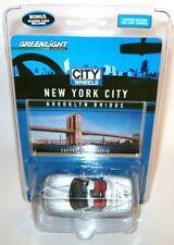 CHEVY CORVETTE NEW YORK CITY BROOKLYN BRIDGE WHEELS DIECAST GREENLIGHT RARE