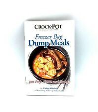 Crock Pot Freezer Bag Dump Meals Cathy Mitchell Recipe Cookbook Paperback Guide
