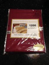 Luxury Egyptian Bedding 1200 Ct 100% Egyptian Cotton Two Standard Pillowcases