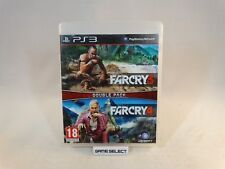 FAR CRY 3 + 4 DOUBLE PACK SONY PS3 PLAYSTATION PAL EU EUR ITA ITALIANO ORIGINALE