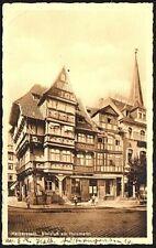 Postcard - Germany - Halberstadt, Stelzlus am Holzmarkt