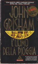 Libro - John Grisham - L'uomo della pioggia  -  I miti  Mondadori 1996 | usato