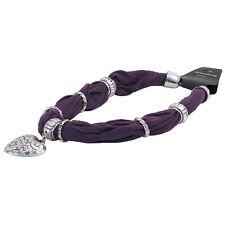 Bufanda Collar Corazón-Púrpura