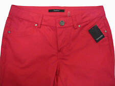 "TAHARI  ""Emma Jean"" Strawberry Shake Jean Style Pants Size 2  NWT"